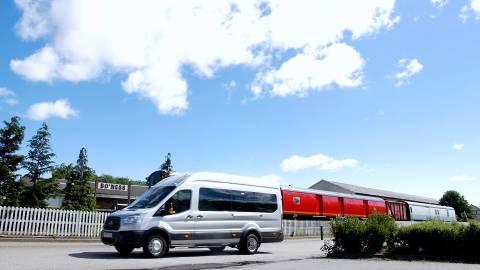 Bo'ness Kinneil Railway Bus