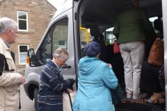 Boarding Blackness Passengers Onto Bus