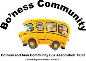 Bo'ness and Area Community Bus SCIO Logo