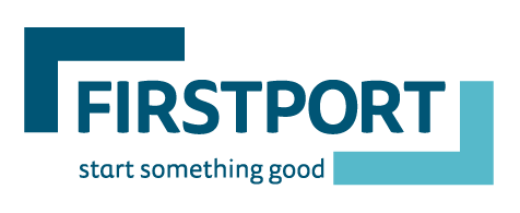 firstport logo strapline screen