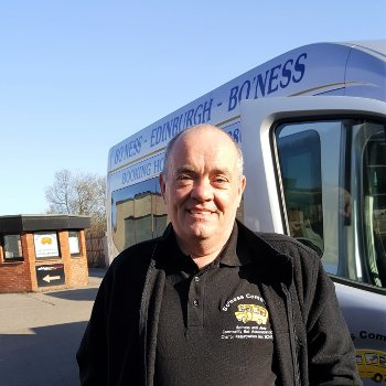 Ian Millar Boness and Area Community Bus Association SCIO Driver